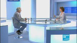 Jean-Pierre Chevènement invité de France 24 jeudi 11 juin à 16h40