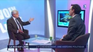 """""""Jean-Pierre Chevènement, une histoire politique"""""""