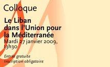 Jean-Pierre Chevènement invité du colloque Le Liban dans l'union pour la méditerranée
