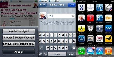 Connaissez-vous le blog de J-P. Chevènement en version iPhone ou mobile ?