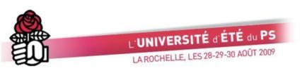 Jean-Pierre Chevènement invité de l'Université d'été du Parti socialiste à la Rochelle samedi 29 août