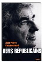 Défis républicains, Jean-Pierre Chevènement, Fayard, 2004