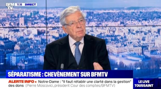 """Entretien à BFM TV : """"Ayant épousé le néolibéralisme, la gauche se trouve en crise profonde."""""""