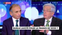 """Débat sur CNews avec Éric Zemmour : """"La France s'identifie à la croyance en la raison humaine"""""""