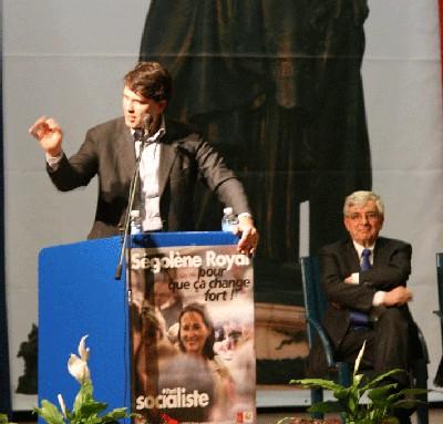 Près de 600 personnes ont assisté au meeting du jeudi 15 février à Belfort avec Jean-Pierre Chevènement, Arnaud Montebourg et Sami Naïr