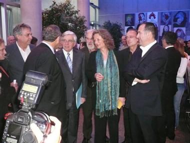 Jean-Pierre Chevènement en réunion publique avec Catherine Coutard à Romans (Drôme) lundi 16 avril à 20h