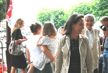 Ségolène Royal a apporté un soutien franc et ferme à la candidature de Jean-Pierre Chevènement dans la seconde circonscription du Territoire de Belfort