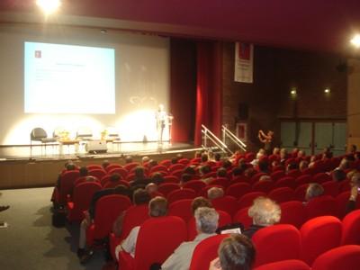 La salle des débats au Kursaal de Dunkerque / Saint-Pol-sur-Mer
