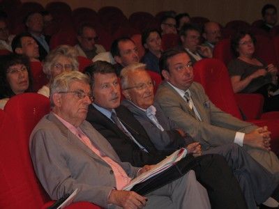 Jean-Pierre Chevènement, Vincent Peillon, Georges Sarre et Christian Hutin