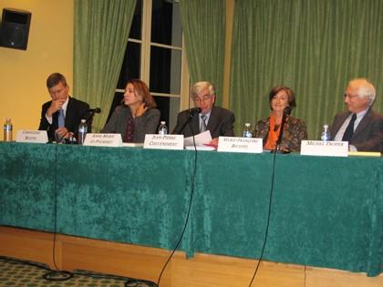 Les photos du colloque de la Fondation Res Publica : Peut-on se rapprocher d'un régime présidentiel ?