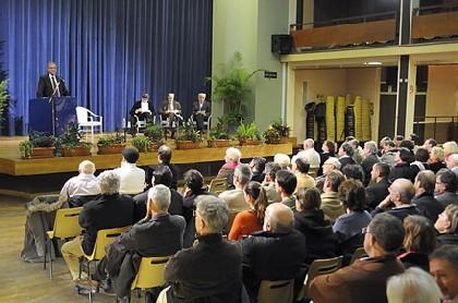 Les photos du meeting de Belfort du vendredi 7 décembre pour un référendum sur le traité de Lisbonne