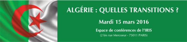 Algérie: Quelles transitions ?