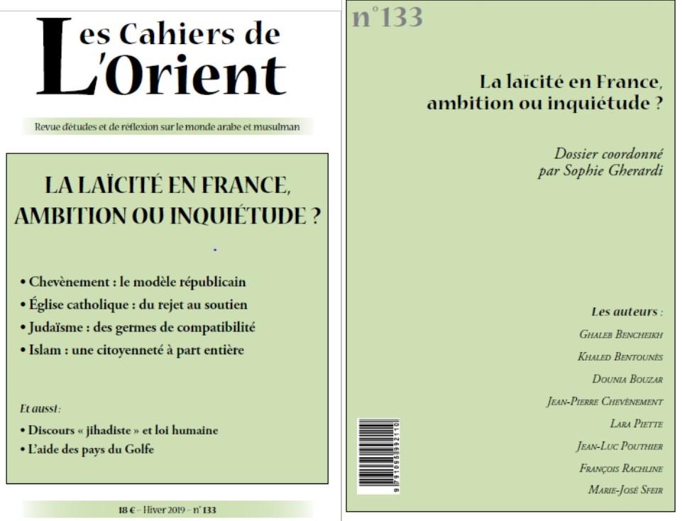 Y a-t-il une question laïque en France depuis le début des années 1980?