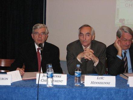 Les photos du colloque de la Fondation Res Publica : quel gouvernement économique de la zone euro ?