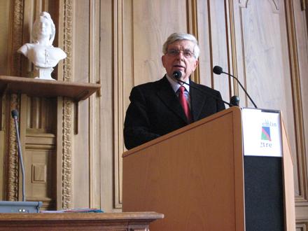 Jean-Pierre Chevènement au Conseil national du MRC, 6 avril 2008