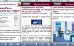 Connaissez-vous le blog de J-P. Chevènement en version iPhone ou mobile ?