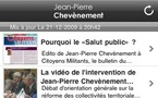 Téléchargez l'application iPhone de Jean-Pierre Chevènement
