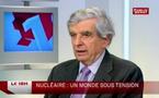 Prolifération nucléaire : Jean-Pierre Chevènement présente les premiers éléments de son rapport