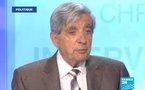 Port du voile intégral, retraites, Karachi : Jean-Pierre Chevènement sur France 24