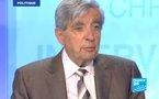 Crise, euro, Iran, 2012 : Jean-Pierre Chevènement sur France 24