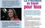 Le Pacte présidentiel de Ségolène Royal en tract de 4 pages