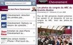 Une version mobile / iPhone / iPod touch du blog de Jean-Pierre Chevènement