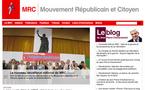 Le Mouvement Républicain et Citoyen se dote d'un nouveau site Internet